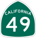 California's historic gold route 49