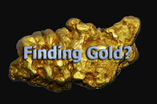 Finding gold?