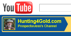 Hunting4Gold is ProspectorJess On YouTube