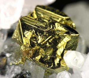 Gold (fools gold) pyrite
